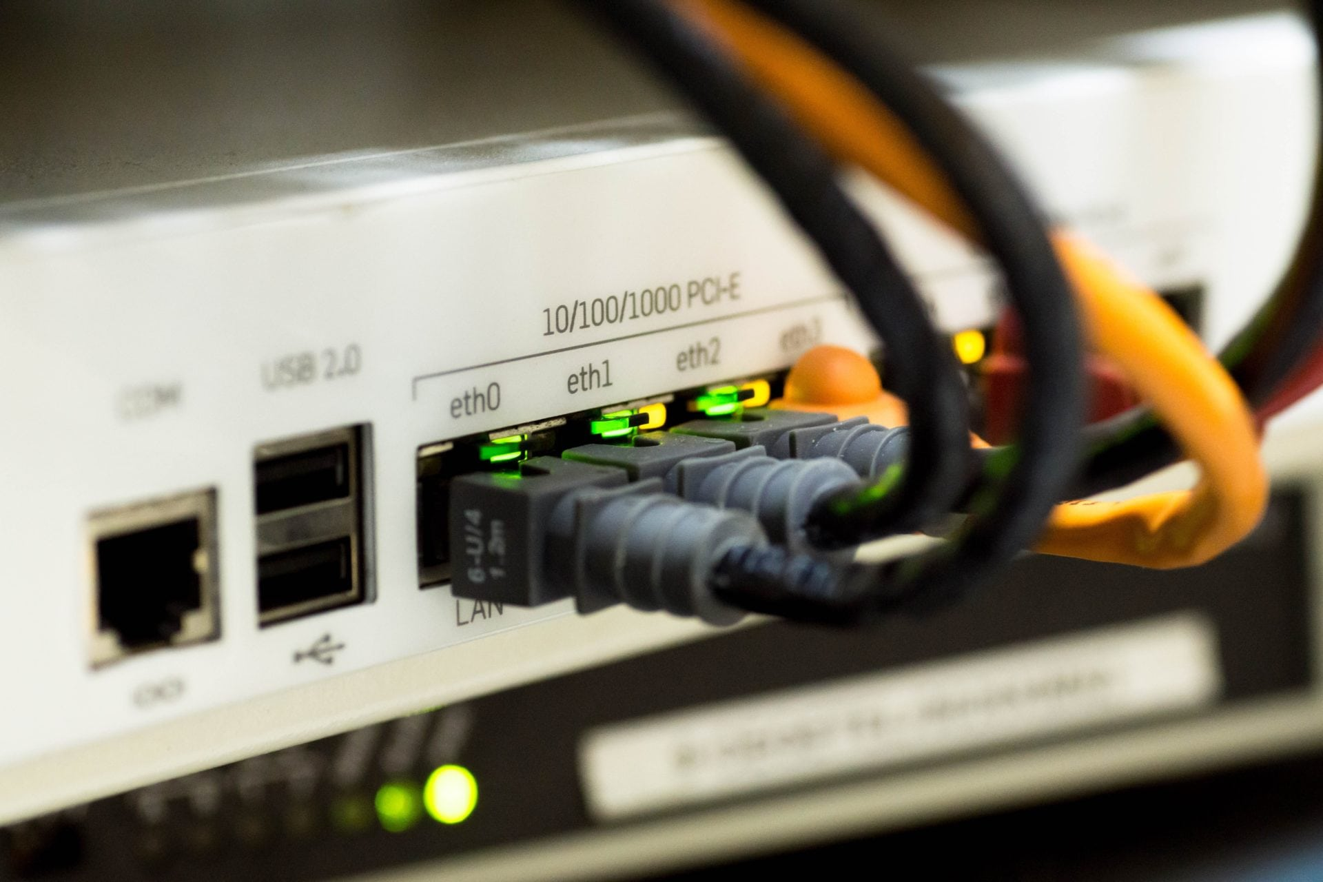 Equipments for LAN and data network wiring